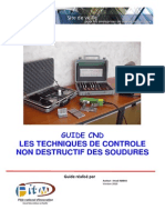 GUIDE CND Des Soudures