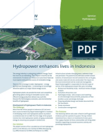 Leaflet Hydropower Indonesia