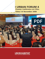 World Urban Forum 4 Report