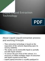 Advantages of Liquid Liquid Extraction System