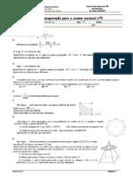 Ficha Nº2 Preparação Exame
