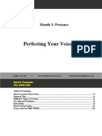 Perfecting Your Voice Tone