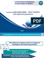 The Influence of Tapioca Starch on Yoghurt_s Rheological and Textural Parameters
