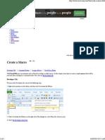 Create a Macro in Excel - Excel VBA Easy
