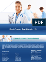Cancer Hospitals in USA