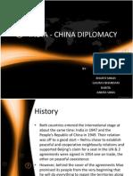 India - China Diplomay