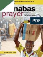 Prayer Diary July-August 2014