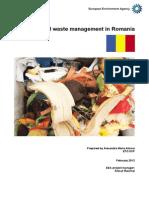 Romania Municipal Waste Management