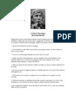 Bertrand Russell - A.liberal.decalogue