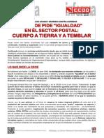 1860753-Comunicado - La CEOE Pide Igualdad en El Sector Postal Cuerpo a Tierra y a Temblar