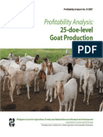 PA Goat Production - 2007