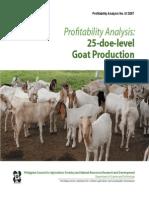 PA Goat Production - 2007