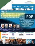 The 4th India Smart Grid Utilities Week