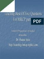 Mrcp Answers