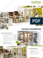 Vufold Bifold Door Brochure 2014