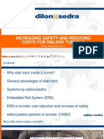 edilon)(sedra Track Systems - Increasing Safety and Reducing Costs for Railway Tunnels