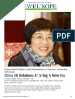 China EU Relations Entering a New Era _ Neurope