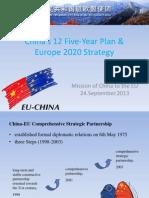Eu2020china 12th Five Year Plan