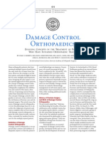 Damage control orthopedics