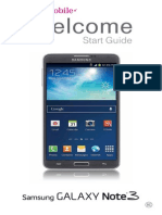 T-Mobile SM-N900T (Galaxy Note 3) Quick Start Guide (Kit Kat )(Ver.na8_F2)