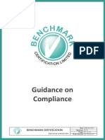 Guidance on Compliance