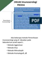 LABORATORIUM Imunoserologi PRODIA