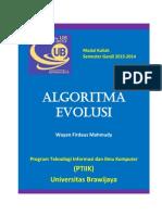 2013 Algoritma Evolusi Modul