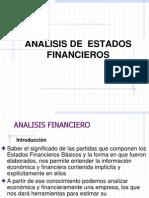 Analisis Estados Financieros 2012