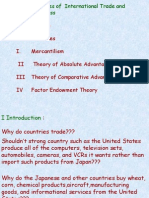 Chapter 2 Theories of Intl Trade