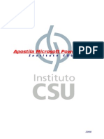 Apostila de PowerPoint CSU