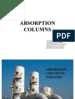Absorption Columns