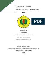 PRAKTIKUM Penentuan senyawa organik