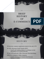 History of E-commerce