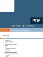 Ad HocNetworks