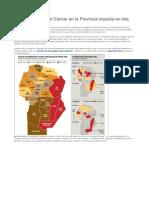 Un Informe Sobre El Cáncer en La Provincia Impacta en Tres Diarios