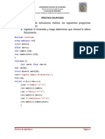 Algoritmos Practica Calificada