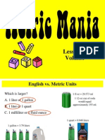 metric mania - lesson 3 on volume