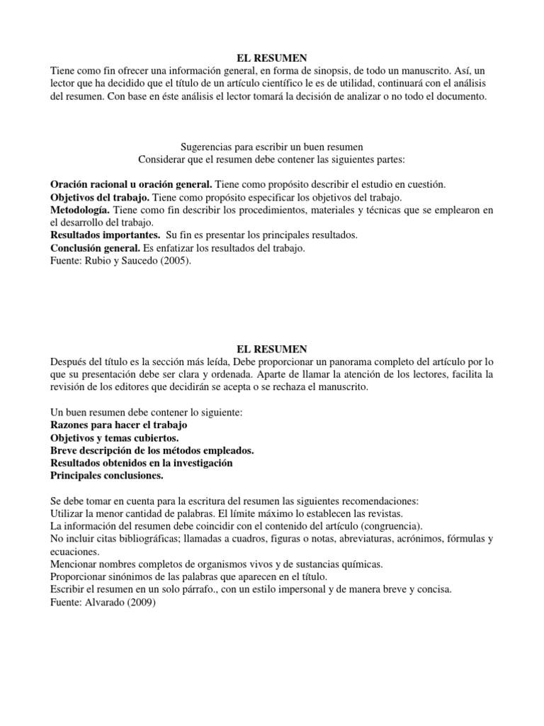 Moderno Buen Resumen Objetivo Para Reanudar Modelo - Colección De ...
