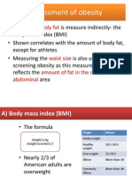 Assessment of Obesity