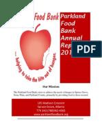2013 PFB Annual Report