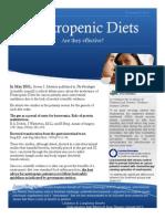neutropenic diets