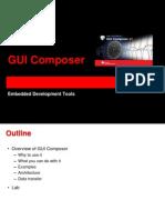 CCS GUI Composer