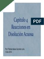 Capítulo4 Reacciones en Disolución Acuosa2