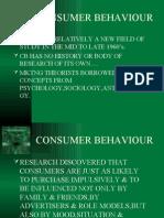 Consumer Behaviour shamsu MBA 9747666274