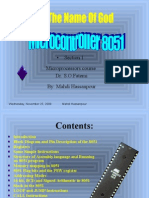 Microcontroller 8051- 1