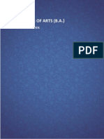 Curriculum Programme Guides Arts 4120 BA (Bachelor of Arts)
