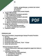 Produksi Penisilin.