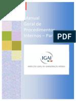 Manual Geral de Procedimentos Internos Da IGAI_1Parte