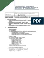 Propuesta Capacitación UNAP 2014 3