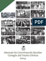 Manual de Convivencia 2014 Sin Mensaje